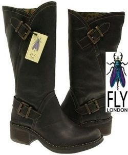 Fly London Freed black