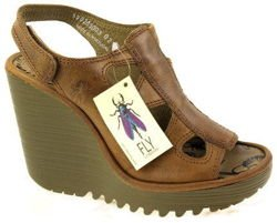 Fly London Pemba camel