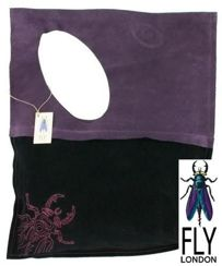 Fly London Laurie black/purple