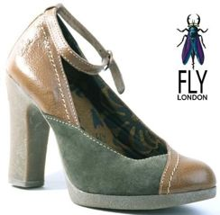 Fly London PIN sludge/taupe