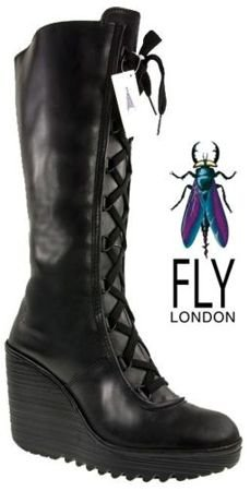 Fly London Cedys black