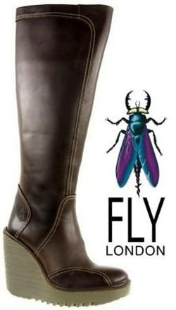 Fly London Cher dk brown
