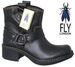 Fly London Flud Dk Brown