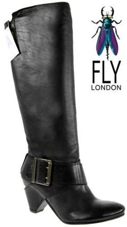 Fly London Glia black \ black