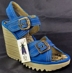 Fly London Pelia blue
